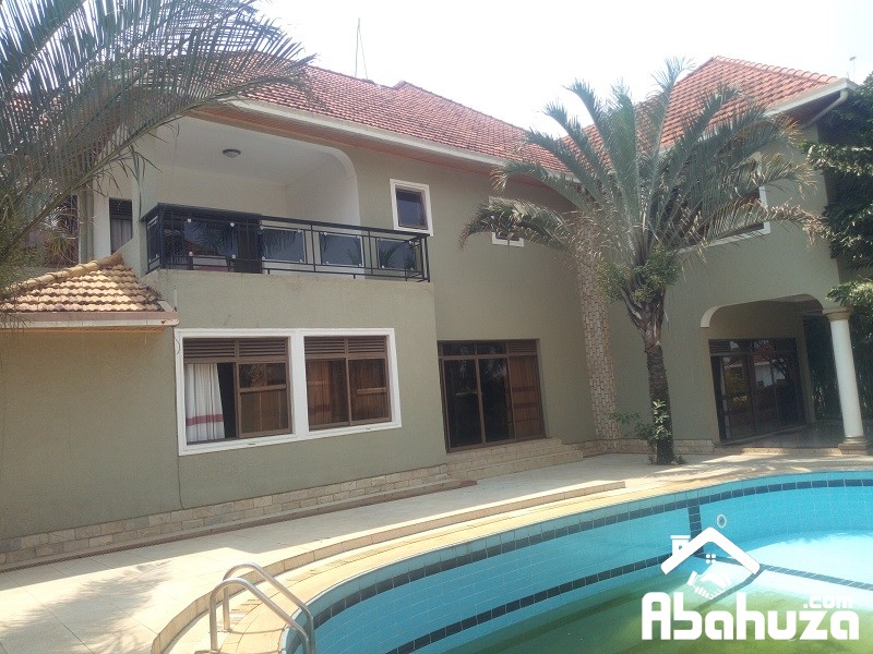 A POOL HOUSE OF 8 BEDROOMS FOR RENT AT GACURIRO