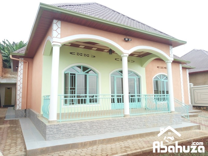 A NEW NICE HOUSE FOR RENT IN KIGALI AT ZINDIRO
