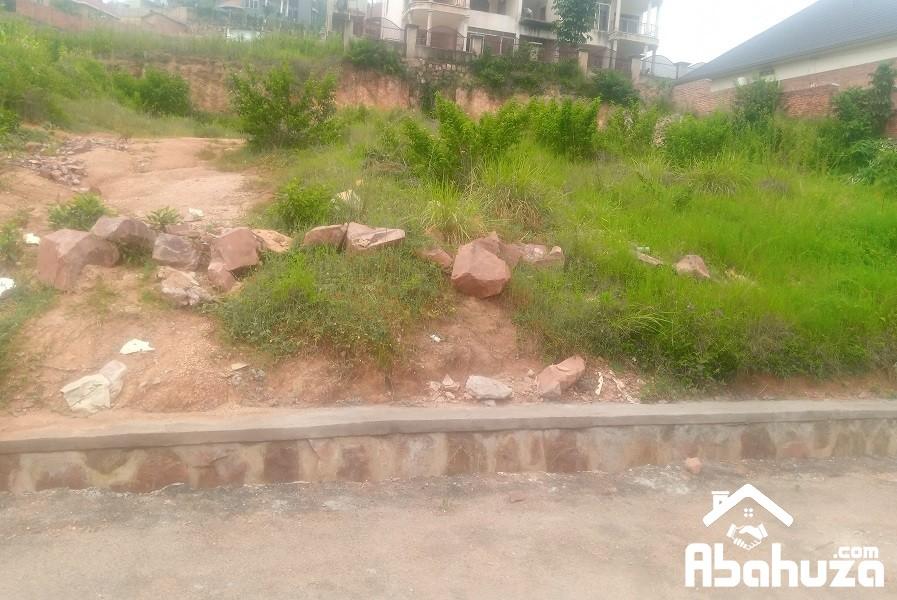A NICE  PLOT FOR SALE IN KIGALI IN GOOD AREA OF KIBAGABAGA