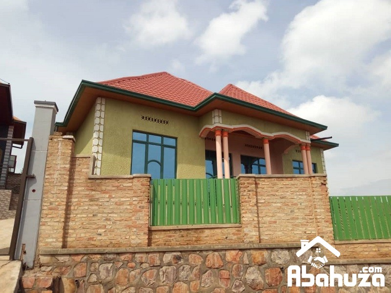 ALMOST FINISHED HOUSE FOR SALE IN KIGALI AT MASAKA