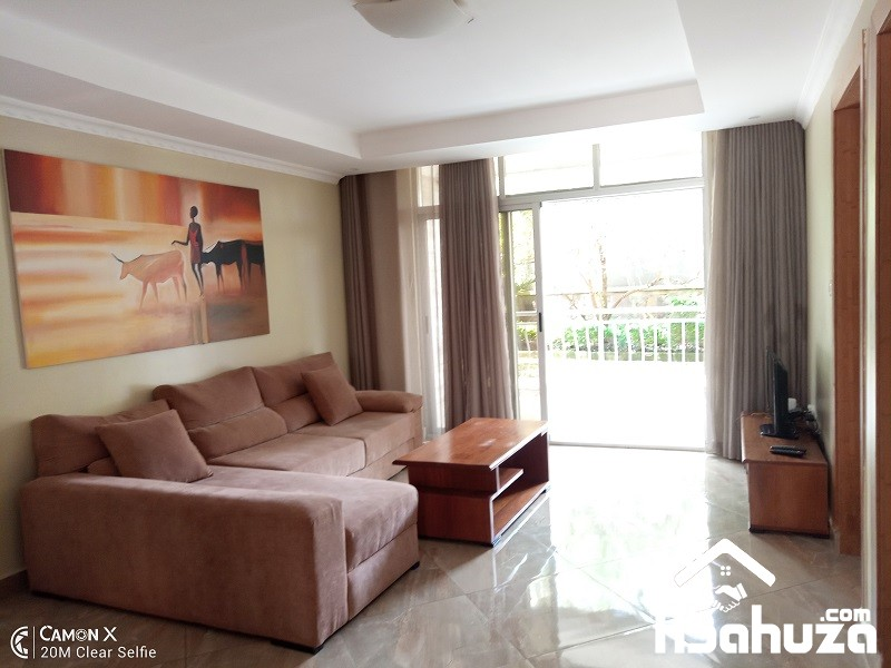 A FURNISHED 2 BEDROOM APARTMENT FOR RENT IN KIGALI AT GACURIRO