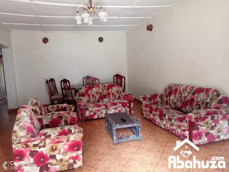 A FURNISHED 5 BEDROOM HOUSE FOR RENT IN KIGALI AT KIMIHURURA