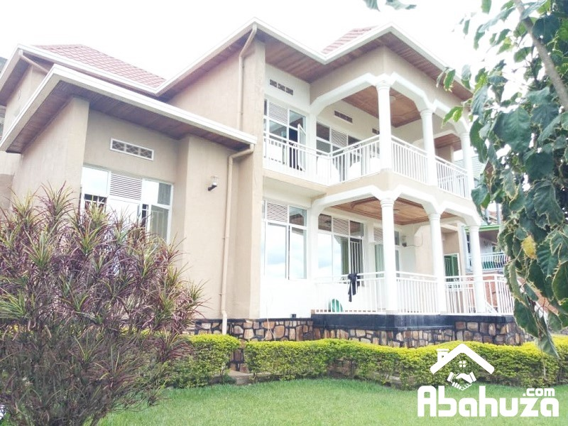 A 5 BEDROOM HOUSE FOR RENT IN KIGALI AT KIBAGABAGA