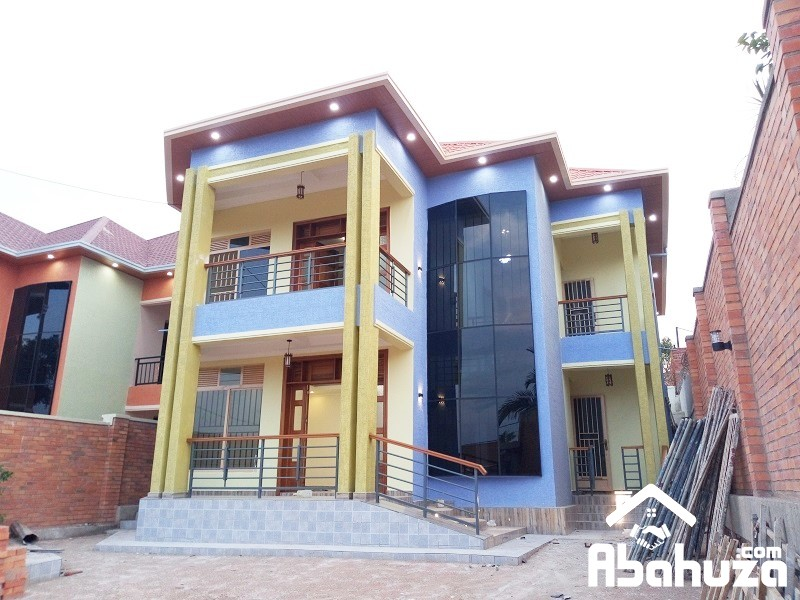A NEW HOUSE WITH SELF-CONTAINED ROOMS AT KIBAGABAGA