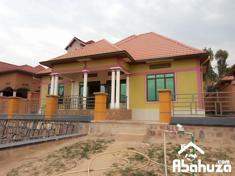 A NEW FINISHED HOUSE FOR SALE AT KIBAGABAGA