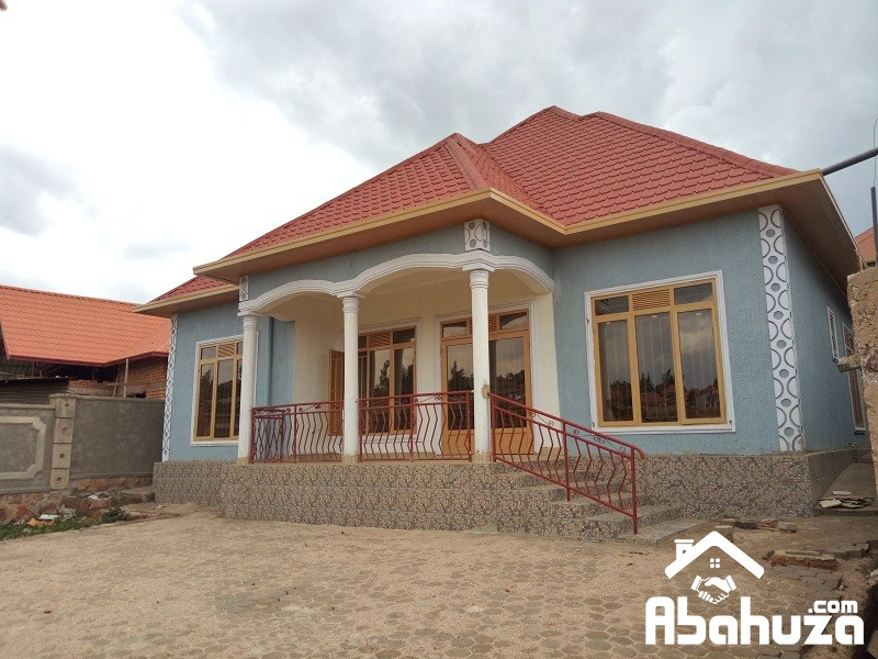 A NEW AND WELL LOCATED HOUSE FOR SALE IN KIGALI AT KABEZA