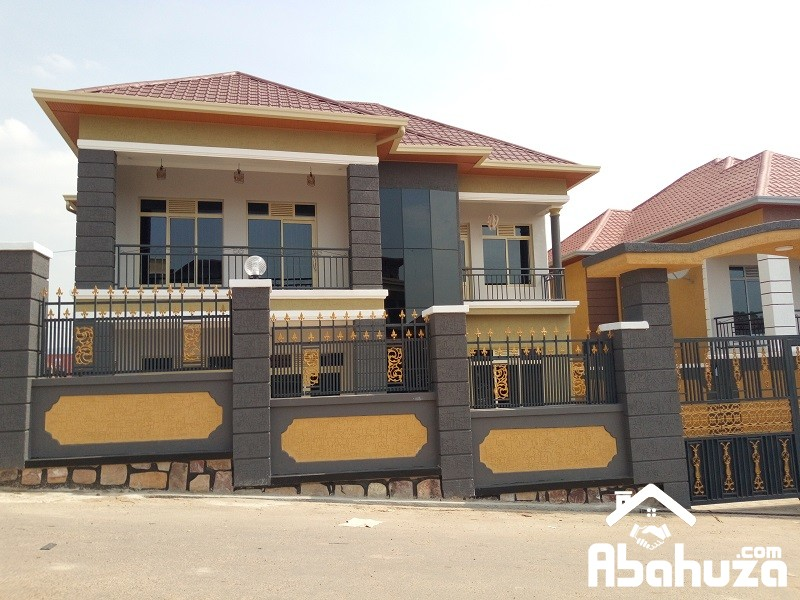 BRAND NEW HOUSE WITH NICE VIEW FOR SALE IN KIGALI AT KIBAGABAGA