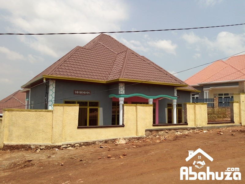 ALMOST FINISHED HOUSE FOR SALE KIGALI-KWA NAYINZIRA