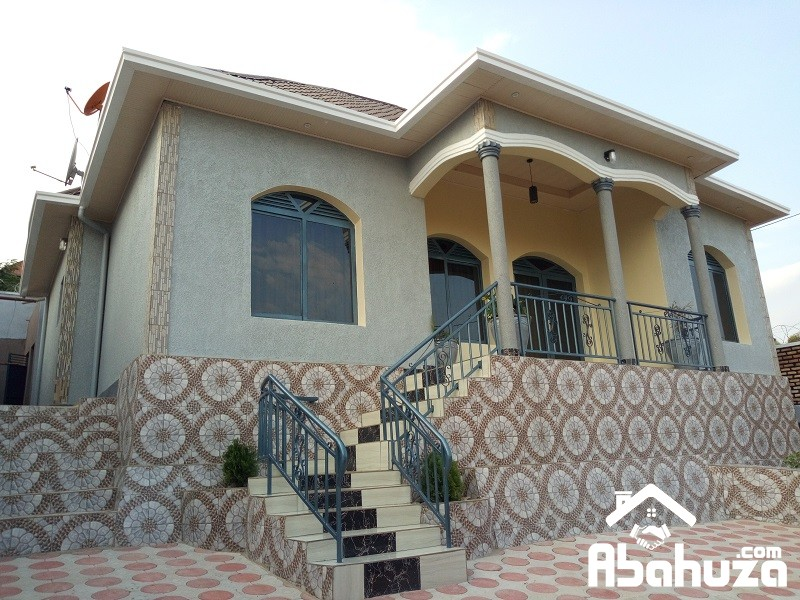 A MODERN AND BEAUTIFUL HOUSE FOR SALE IN KIGALI AT KABEZA