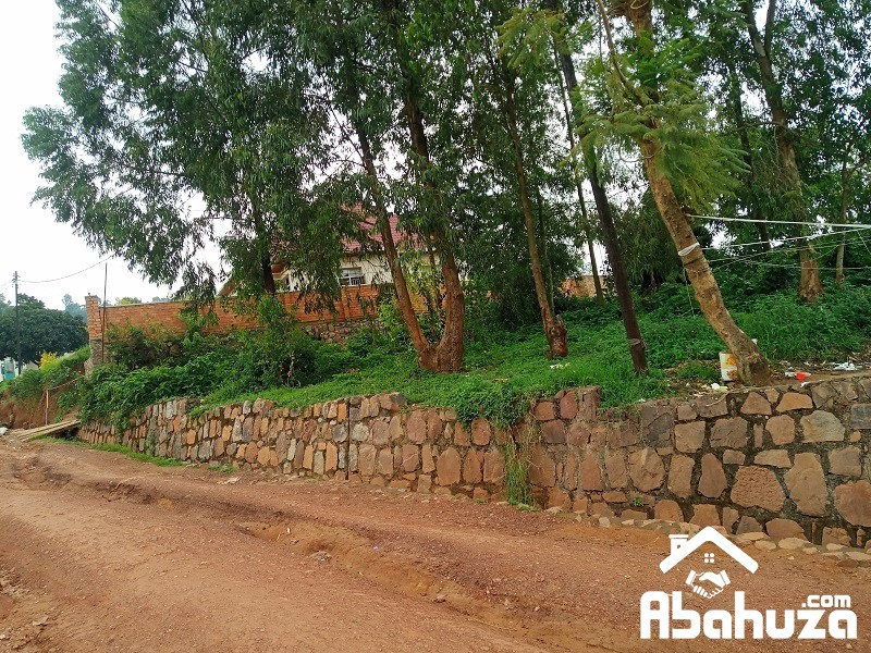 A RESIDENTIAL PLOT FOR SALE IN KIGALI AT GISOZI