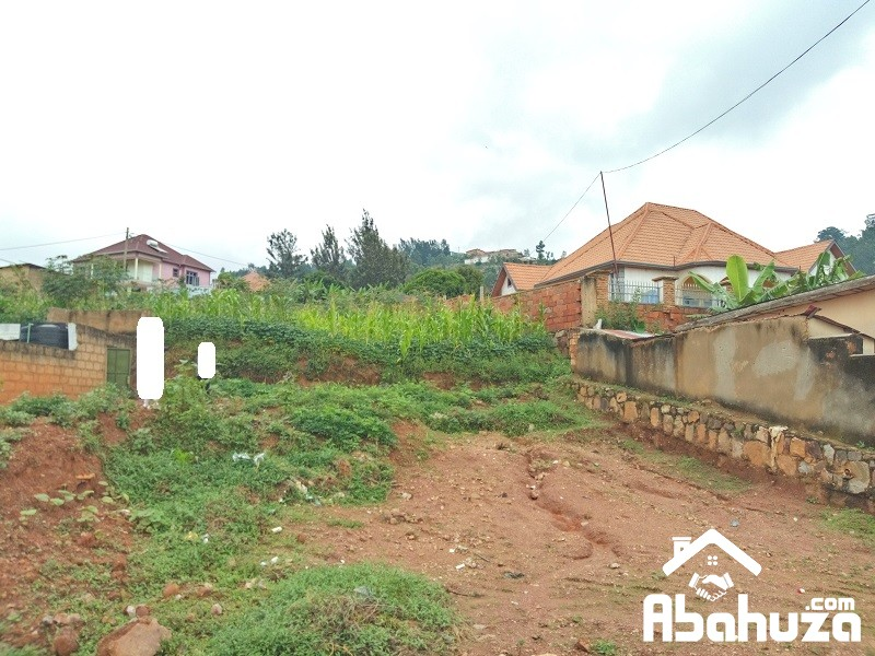 A GOOD PLOT WITH CONSTRUCTION PERMIT AT GISOZI