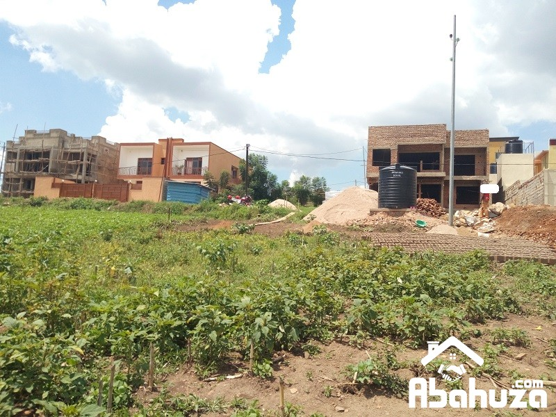 A PLOT WITH A CONSTRUCTION PERMIT IN KIGALI AT NIBOYE