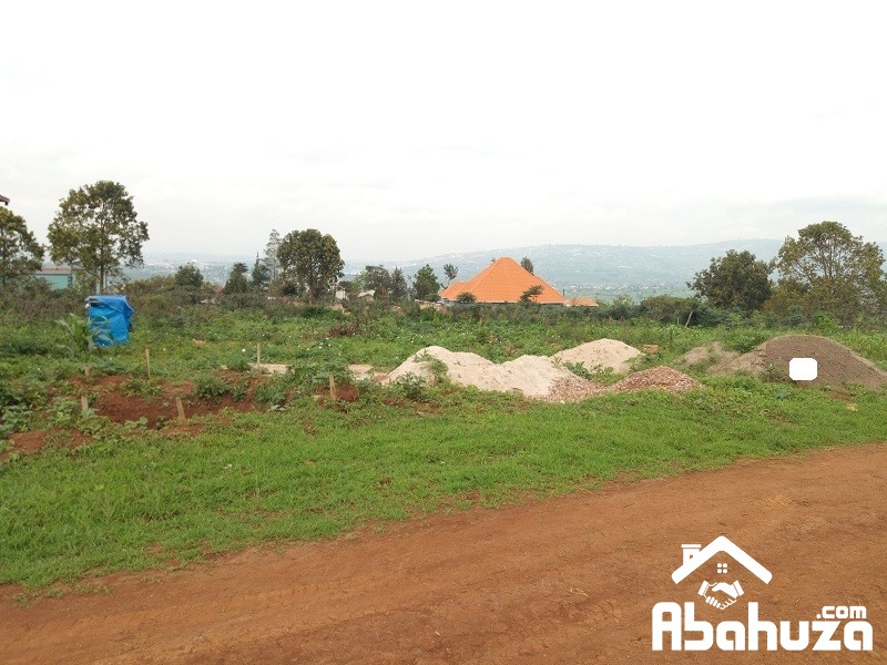 A RESIDENTIAL PLOT FOR SALE IN KIGALI AT GASOGI