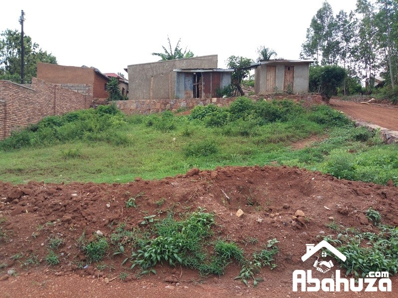 A PLOT WITH CONSTRUCTION PERMIT FOR SALE IN KIGALI AT KANOMBE