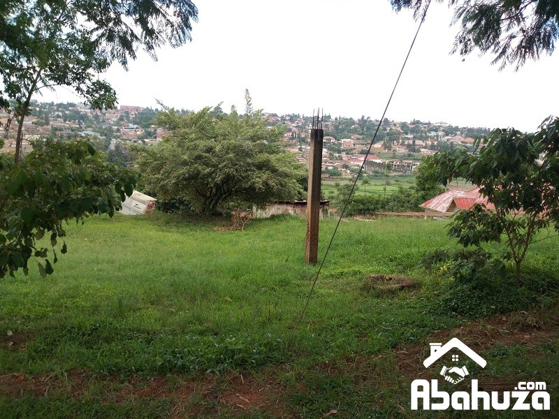A BIG PLOT FOR SALE WITH ACCESS ON TWO ASPHALT ROADS IN KIGALI