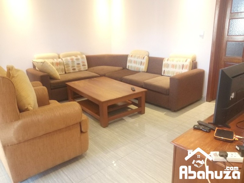 A FURNISHED 3 BEDROOM APARTMENT FOR RENT AT GACURIRO