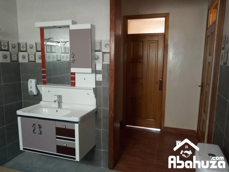 12. Hand wash area