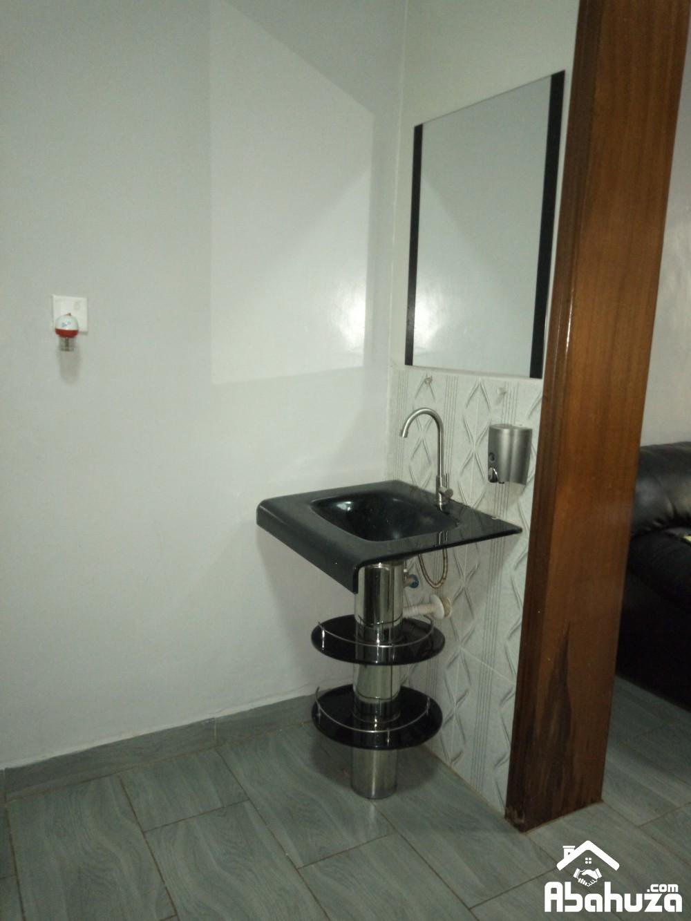 13. Hand wash area