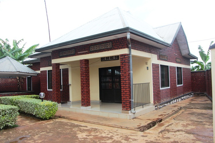 TWO HOUSES FOR SALE FULLY MADE OF BRICKS at KARENGE
