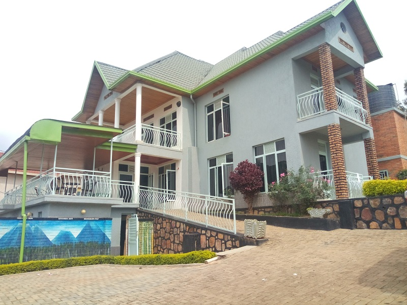 A FURNISHED 7 BEDROOM HOUSE FOR RENT AT KIBAGABAGA