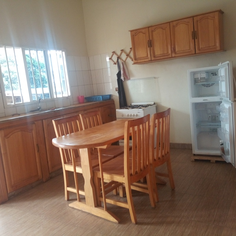 A FURNISHED 3 BEDROOM HOUSE AT KICUKIRO