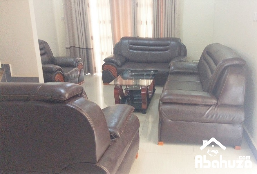 A FURNISHED 3 BEDROOM HOUSE FOR RENT AT NYARUTARAMA
