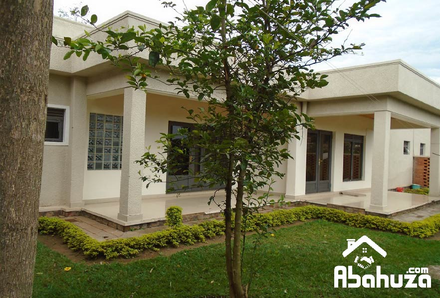 A FURNISHED 3 BEDROOM HOUSE ON ASPHALT ROAD