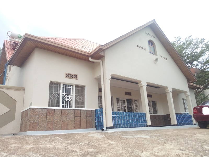 A FURNISHED 3 BEDROOMS HOUSE FOR RENT AT RUGANDO