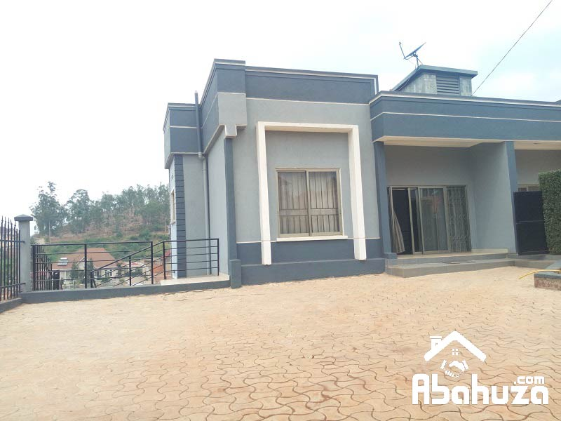 A FURNISHED 4 BEDROOM HOUSE FOR RENT AT KIBAGABAGA