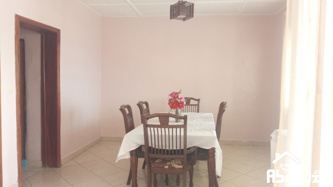 A FURNISHED 4 BEDROOM HOUSE FOR RENT AT KACYIRU