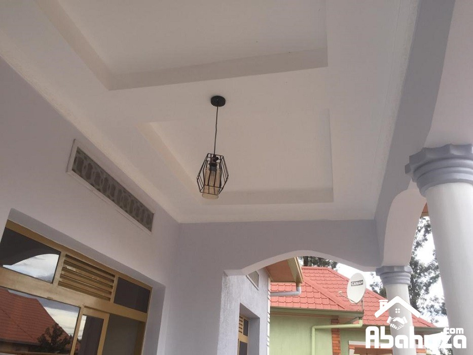 16. Outside ceiling