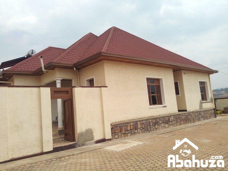 A 4 BEDROOM HOUSE FOR RENT AT KIBAGABAGA