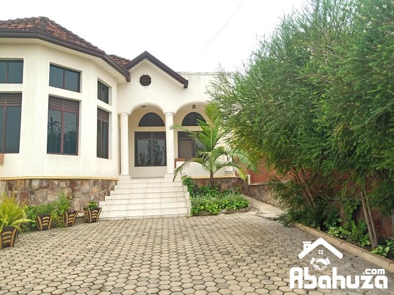 A FURNISHED 3 BEDROOM HOUSE FOR RENT IN KIGALI AT KIBAGABAGA