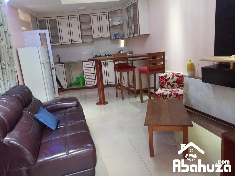 A FURNISHED STUDIO FOR RENT IN KIGALI AT GACURIRO