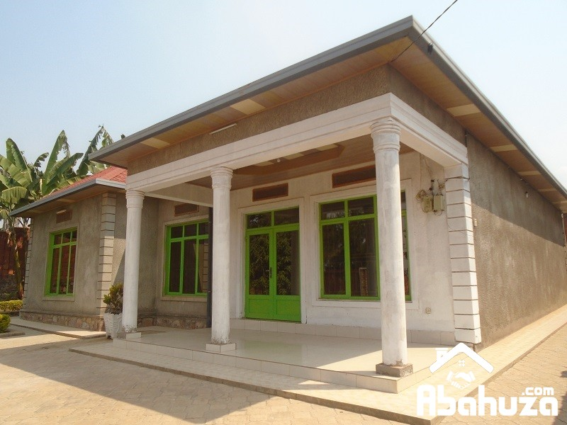 A 4 BEDROOM HOUSE FOR RENT AT NIBOYE