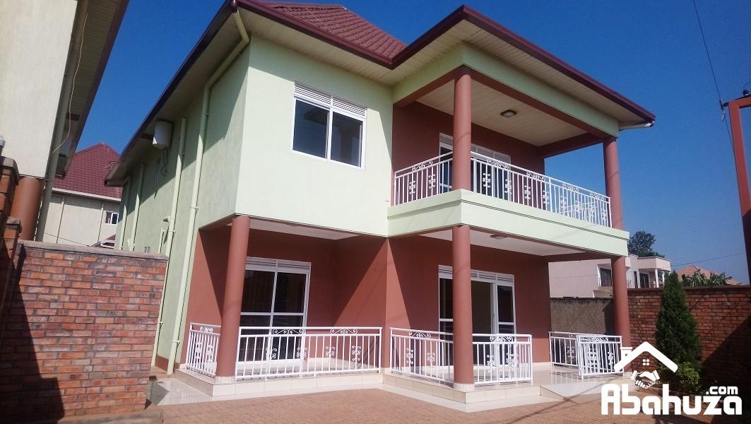 A 4 BEDROOM HOUSE AT KAGARAMA ON TARMAC ROAD