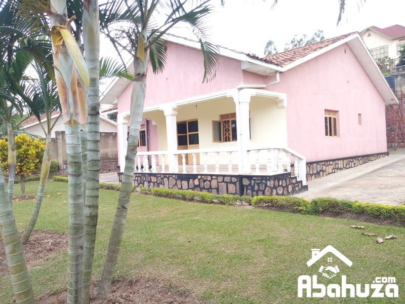 A 3 BEDROOM HOUSE FOR RENT AT KIBAGABAGA
