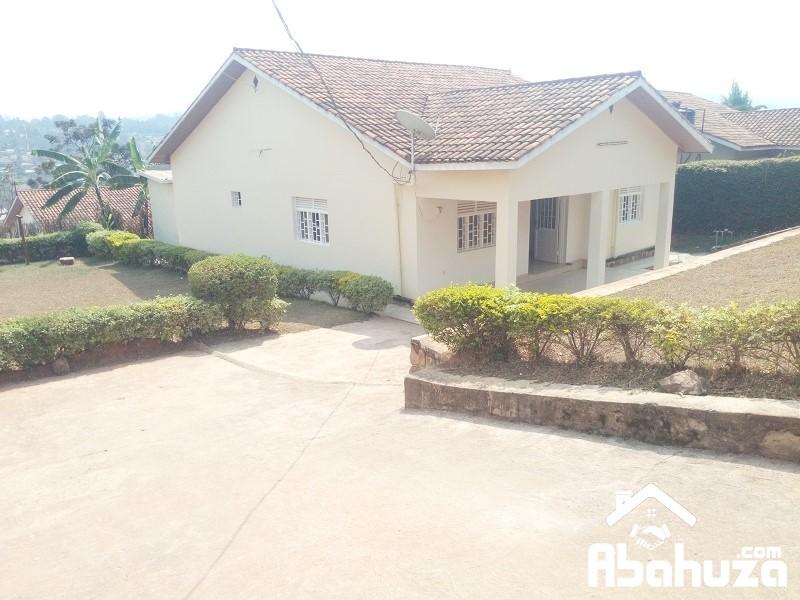 A 3 BEDROOM HOUSE FOR RENT AT KIBAGABAGA