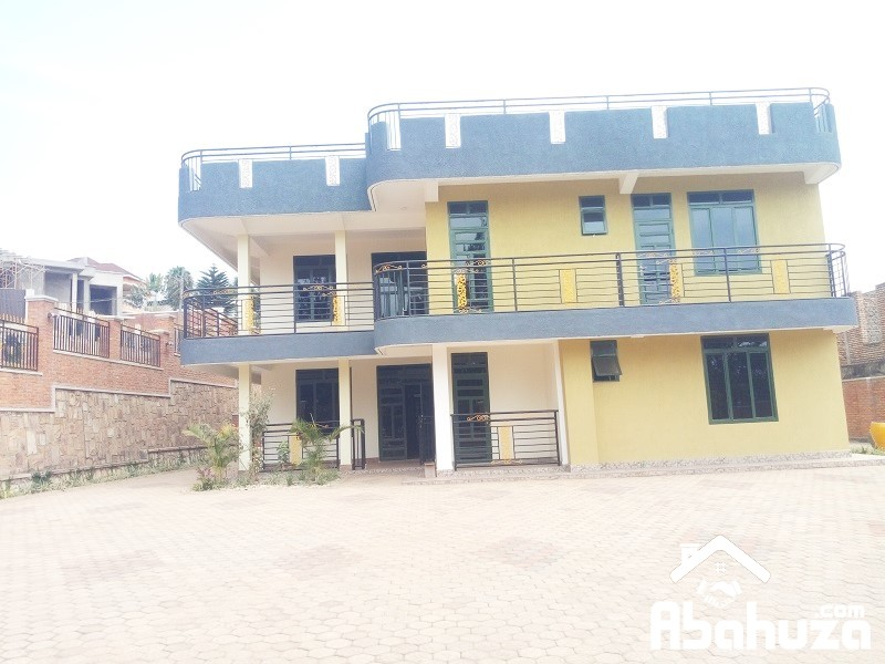 A NEW 8 BEDROOM HOUSE FOR RENT AT KIBAGABAGA