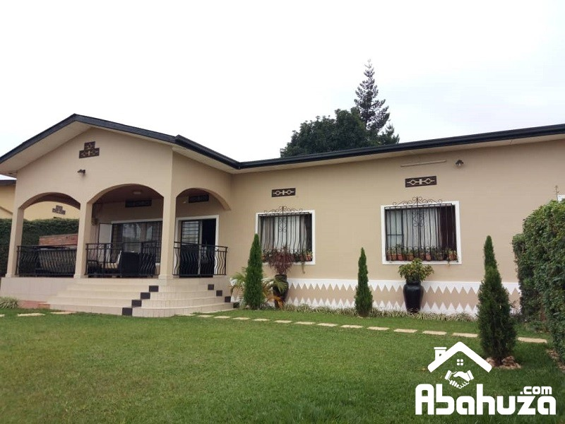 A FURNISHED 5 BEDROOM HOUSE FOR RENT AT GIKONDO