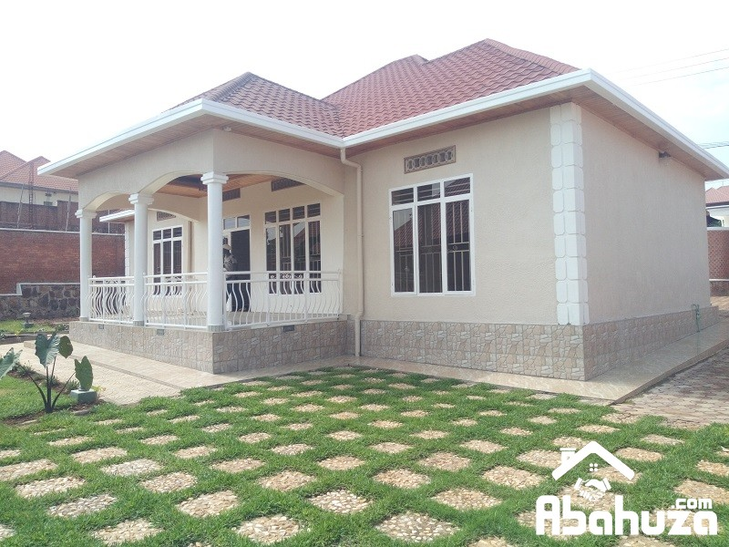 A 4 BEDROOM HOUSE FOR RENT IN KIGALI AT KIBAGABAGA