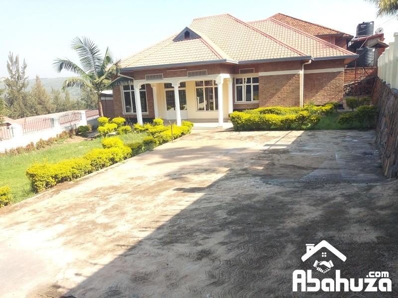 A 4 BEDROOM HOUSE FOR SALE IN KIGALI AT KIBAGABAGA