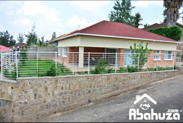 A FURNISHED HOUSE FOR RENT IN KIGALI AT NYARUTARAMA