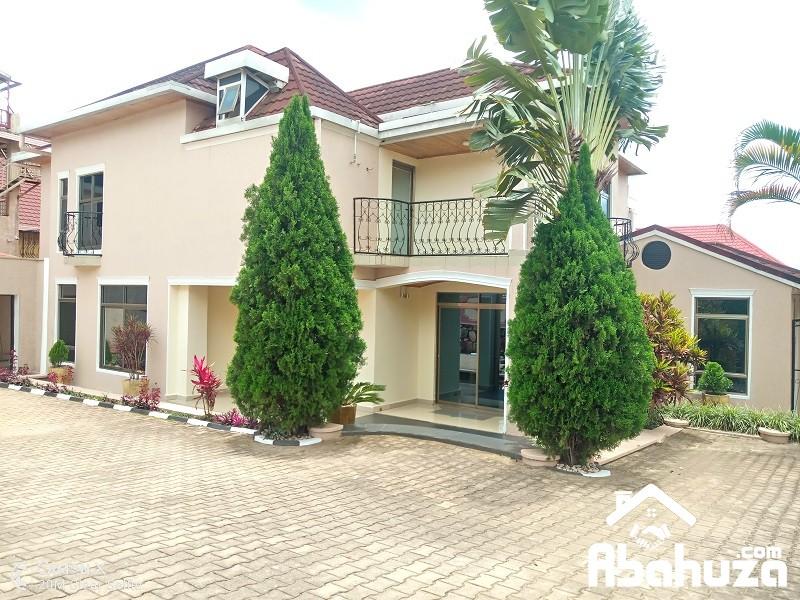 A 5 BEDROOM HOUSE FOR RENT IN KIGALI AT KIBAGABAGA