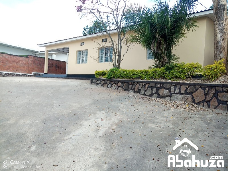 A 3 BEDROOM HOUSE FOR RENT IN KIGALI AT KACYIRU