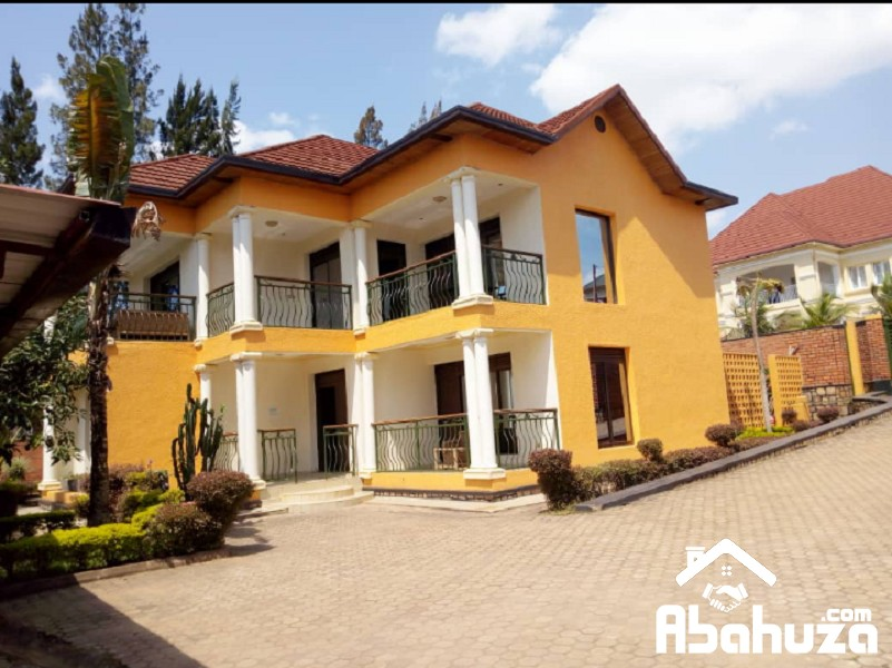 A  FURNISHED 5 BEDROOM HOUSE IN KIGALI AT GACURIRO