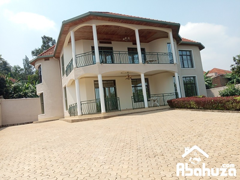 A FURNISHED 5 BEDROOM HOUSE FOR RENT IN KIGALI AT GACURIRO