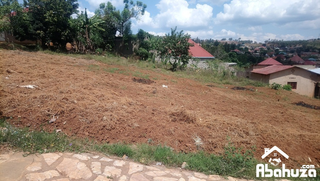 A RESIDENTIAL PLOT FOR SALE AT NYANZA KICUKIRO