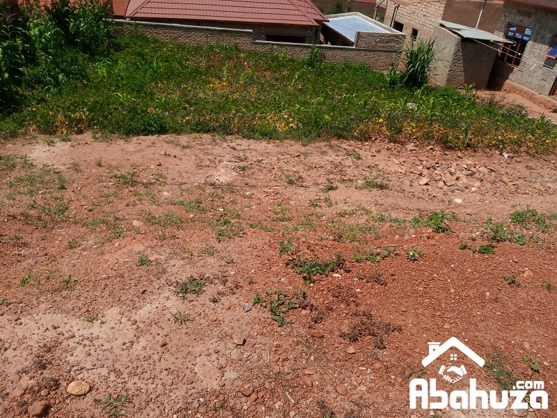 A RESIDENTIAL PLOT FOR SALE IN KIGALI AT GAHANGA