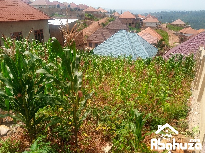 A PLOT WITH CONSTRUCTION PERMIT IN KIGALI AT GAHANGA